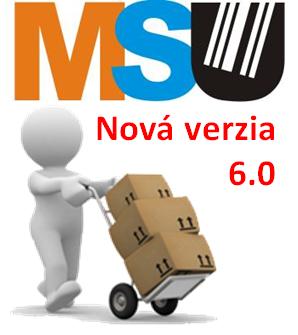 Nová verzia SW Mobilný skladník 6.0