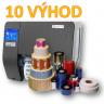 10 základných výhod TT tlačiarní