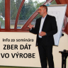 Info zo seminára ZBER DÁT Z VÝROBY
