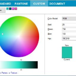 Editácia farieb PANTONE